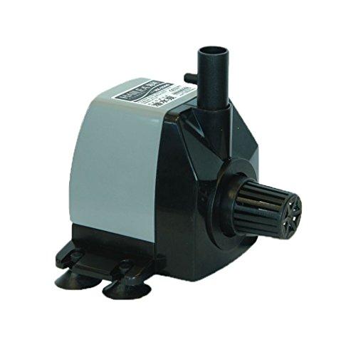Hailea de HX 2500 Pompe réglable, 650 l/h, Maximum de Soutien Hauteur 1,2 m, avec Air Câble Noir, 14 x 10 x 11 cm, 10–450–410