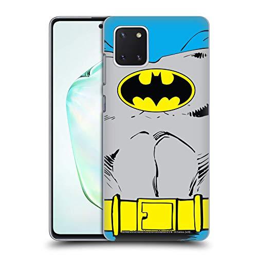 Head Case Designs Oficial Batman DC Comics Disfraz clsico Logotipos Carcasa rgida Compatible con Samsung Galaxy Note10 Lite