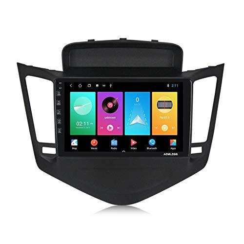 ADMLZQQ para Chevrolet Cruze 2009-2014 Android 9.0 Doble DIN 9 Pulgadas Car Stereo Radio Navegación GPS, FM/WiFi/Bluetooth/Cámara Trasera/Control del Volante,M100 1g+16g