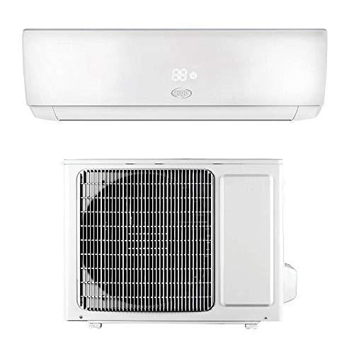 ARGO Ecowall 9 Climatizzatore Fisso, DC Inverter, con WiFi, con Pompa di Calore, Bianco, 9000 BTU/h