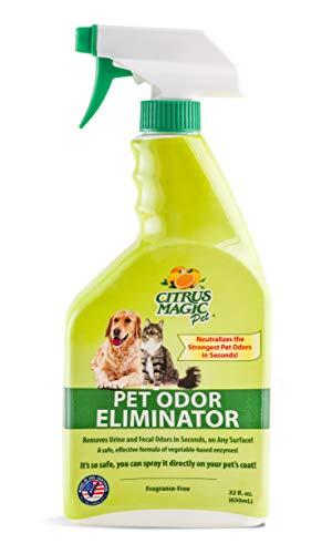 Citrus Magic Pet Odor Eliminator 22 Ounce Sp