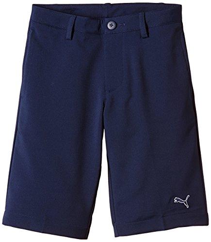 PUMA Golf Tech Kinder Shorts 14 Jahre Blau - Peacoat