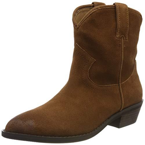 Buffalo Damen FAM Cowboystiefel, Braun (Cognac 001), 37 EU