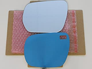 New Replacement Mirror Glass with FULL SIZE ADHESIVE for 2006-2012 SUZUKI GRAND VITARA Driver Side View Left LH