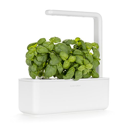 Click and Grow Smart Garden 3 Indoor Herb Garden (Includes Basil Plant...