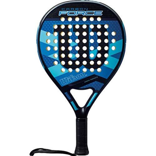 Wilson Carbon Force Black/Blue /Padel Pop Tennis Paddle (WRT969600)