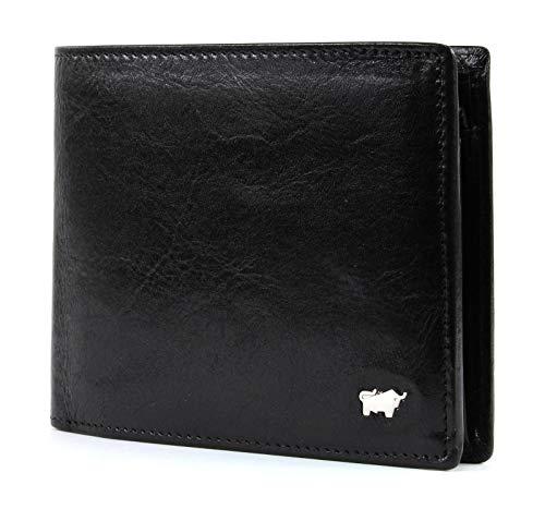 Braun Büffel Gaucho beveiligde Wallet with Flap Quer Black