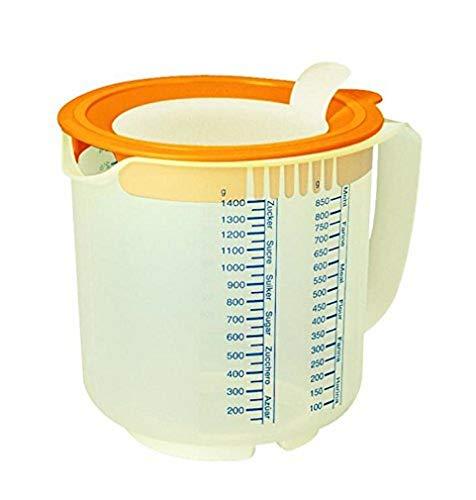 Leifheit 3168 Gobelet 3 en 1 pour mesurer mixer & conserver - 1,4 L