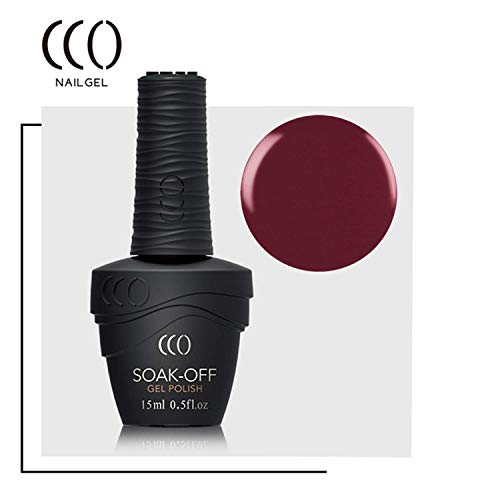 CCO Soak Off, Gel de manicura y pedicura (Bloodline SF066) - 15 ml.
