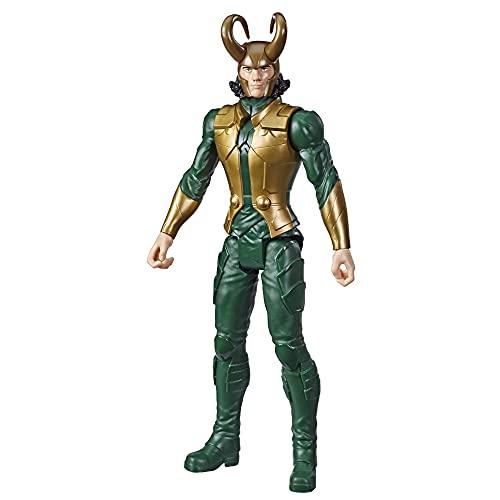 Hasbro Avengers - Loki (Action Figure 30cm con Blaster Titan Hero Blast Gear)