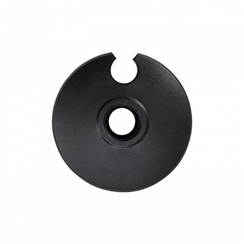LEKI Assiette Alpiniste 62 mm, Noir, Taille Unique / 62 mm