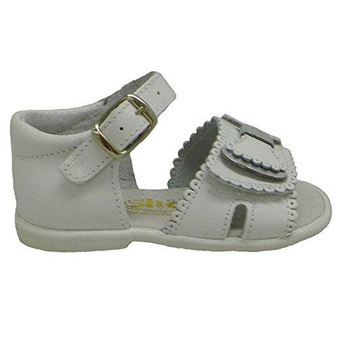 Zapatos Primeros Pasos Sandalias Conguitos Hvs 10935 Blanco 24