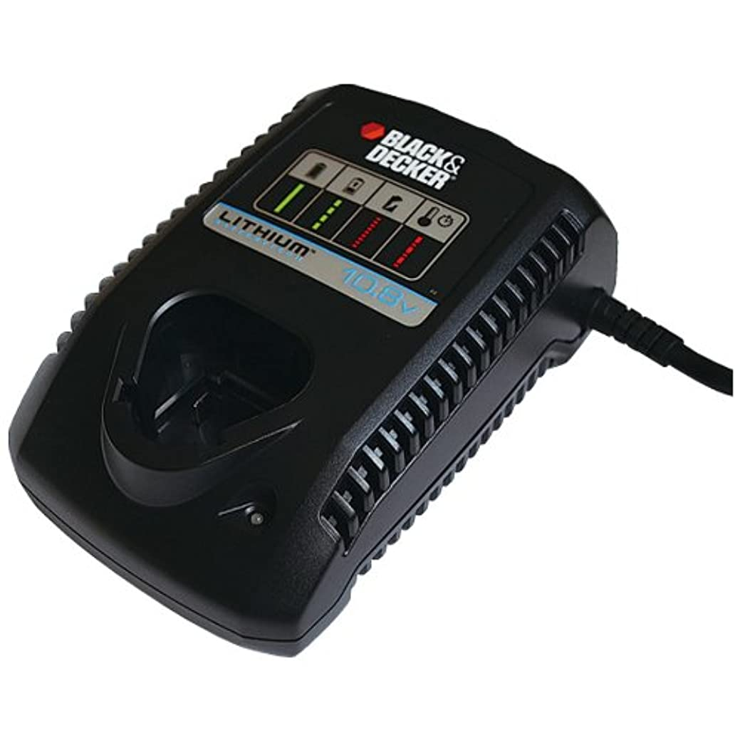 防水生き物ディスクブラックアンドデッカー バッテリーチャージャー 10.8V 充電器本体 BL1310用 LC1013