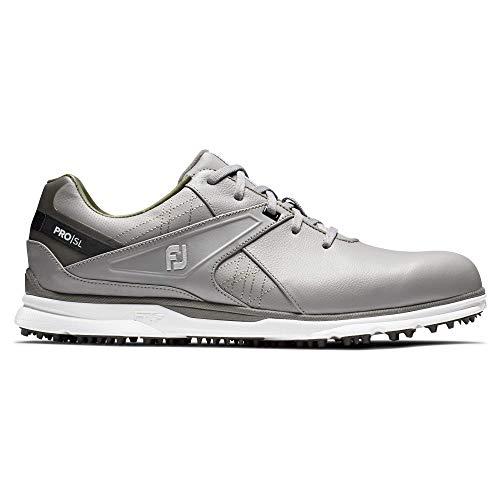 FootJoy Men's Pro/SL Golf Shoes, Grey, 11.5 XW