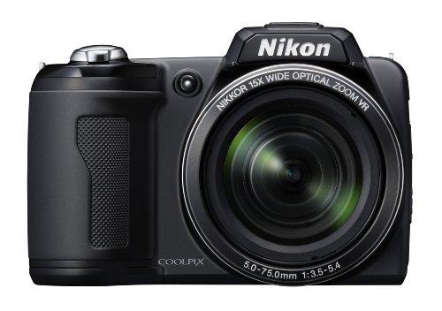 Nikon Coolpix L110 12.1MP Digital Camera with 15x...