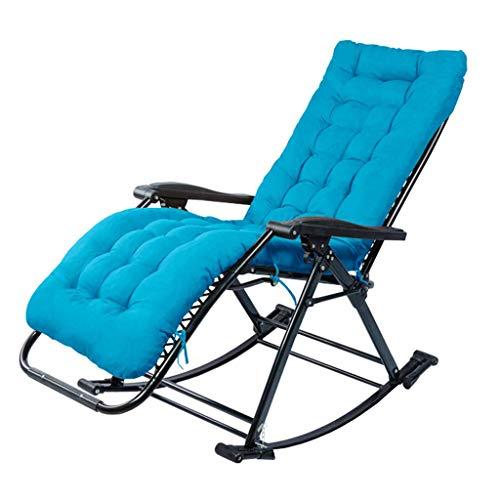 WYJW outdoor schommelstoel outdoor tuinstoel ligstoel ligstoel ligstoel en vouwstoel outdoor camping recreatieve stoel op schommel Flip Flops - blauw