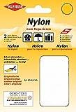 Kleiber + Co.GmbH Nylon-Flicken, 100% Polyamid, Weiß, ca. 10 cm x 12 cm
