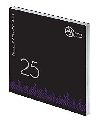 """Audio Anatomy Vinyl-Inner Sleeves 12"""" - cream, 25 pieces"""