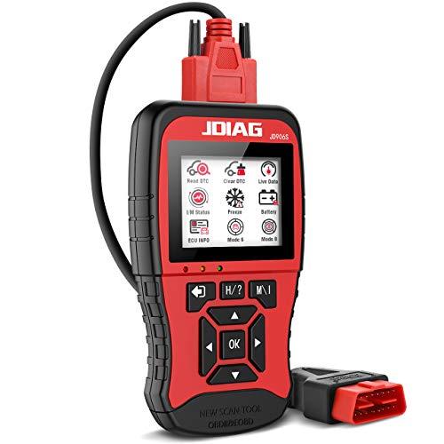 OBD2 Diagnosegerät, Universeller Farbbildschirm Diagnosegerät Auto OBD2 Scanner Fahrzeug Fehlercodeleser arbeitet an Allen Autos mit alle OBDII Protokoll für Lesen und Löschen Fehlercode/Batterie Test
