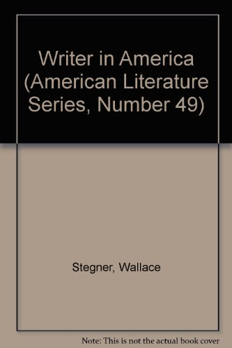 The Writer in America