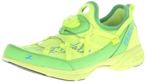 Zoot Men's Ultra Race 4.0 Boa Running Shoe,Safety Yellow/Green Flash,14 M US