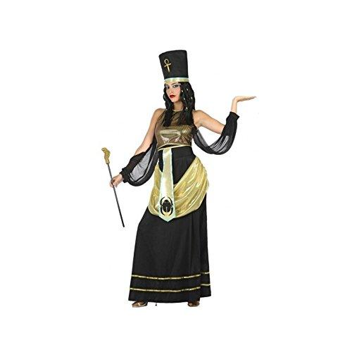 ATOSA disfraz egipcia mujer adulto faraona negro M