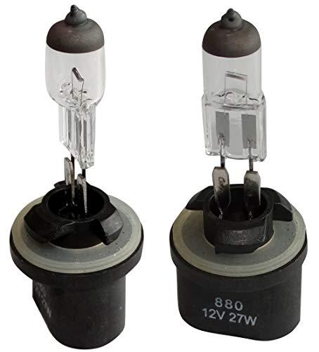 AERZETIX: Juego de 2 bombillas H27W/1U 12V 27W 880 PG13 C42115