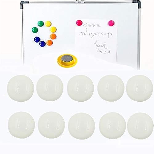 Whiteboards Magneten Veeg Board Magneten Kleine Magneten Prikbord/Planning Magneten Koelkast Magneten Magneten Voor Whiteboards white,10pcs