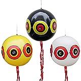 MorTime 3PCS Balloon Bird Repellent, 24' Terror Eye to Scare Birds in Garden Outdoors, Keep Ducks...