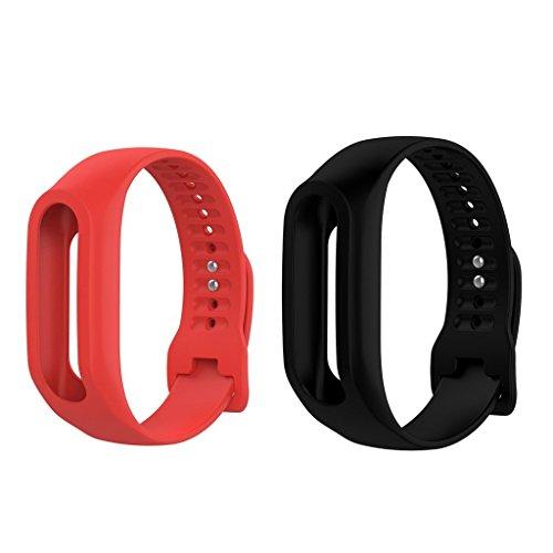 Unbekannt Correa de Repuesto para Reloj de Pulsera Tomtom Touch Smart Wearable (2 Unidades)