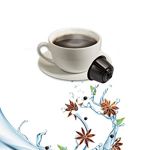 Kickkick Caffe Sambuca Compatibili Nescafe Dolce Gusto - Bevanda in Cialde - 32 Capsule