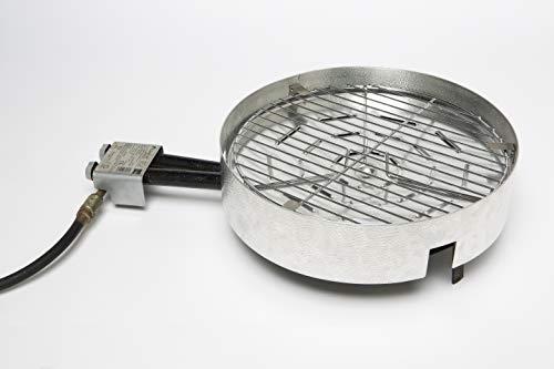 Adaptagrill convertidor de paellero de gas en barbacoa, quemador a barbacoa, 41 cm de diámetro, aluminio