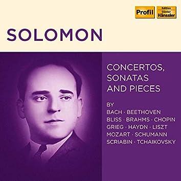 Solomon: Concertos, Sonatas & Pieces