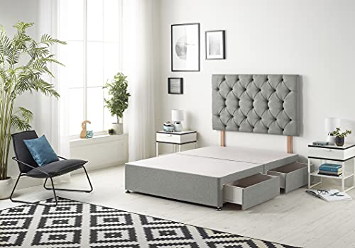 Bed Centre Premier Divan Bed Base with 4 Drawers and Matching Headboard...