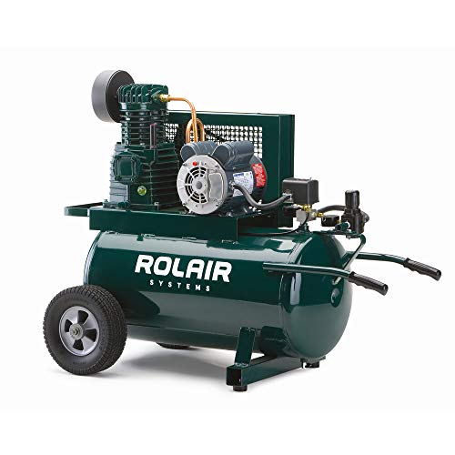 Rolair 5520K17A-0001 20 Gallon 1.5 HP Electric ASME Portable Belt...