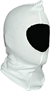 Painters Hood Spray Sock - 100% Bleached White Cotton