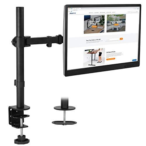 soporte escritorio monitor de la marca Mount-it!