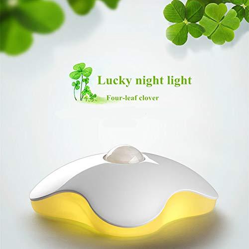 XHSHLID Led-nachtlampje, menselijk lichaam, lichtbesturing, dubbele inductie, USB-oplader, kast, hal, slaapkamer, wandlamp