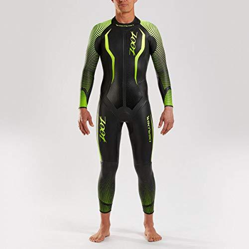 Zoot Herren Wikiwiki Neoprenanzug mit Tasche, 0,3mm dünnen Ärmel, SCS Nano Beschichtung, aus bestem Yamamoto Neopren und ideal für Triathlon und Open Water-Swimming Größe ST