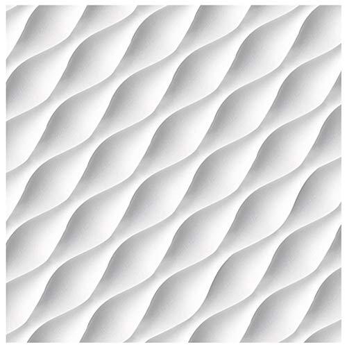 3D Wandpaneel - effektvolle Wandgestaltung mit detaillierten Polystyrolplatten, EPS deutliche Musterung, leicht und stabil - 1 Platte 60x60cm Desert