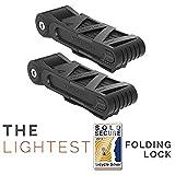 FOLDYLOCK Compact Bike Lock | Extreme Bike Lock - Heavy Duty...