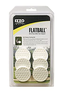 Izzo Golf Flatball Swing