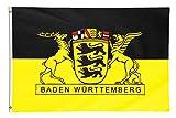 Star Cluster 90 x 150 cm Baden-Württemberg Flagge (BW)