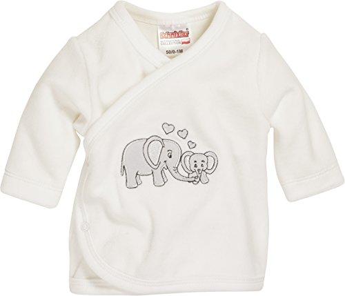 Schnizler Baby-Unisex Flügelhemd Nicki Elefant Hemd, Beige (natur 2), 56