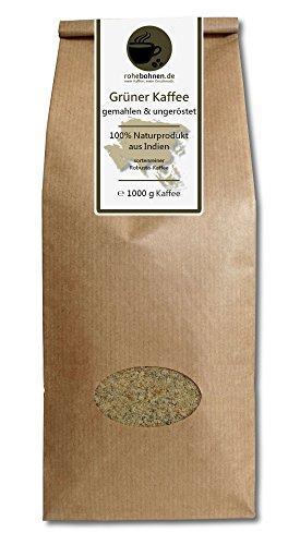 Rohebohnen -  Grüner Kaffee