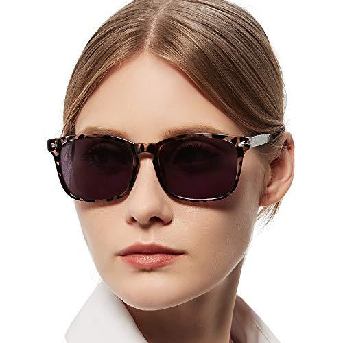 MARE AZZURO Reader Sunglasses for Women 0.50 0.75 1.00 1.25 1.50 1.75 2.00 2.25 2.50 2.75 3.00 3.25 3.50 3.75 4.00 (Leopard, 3.00)
