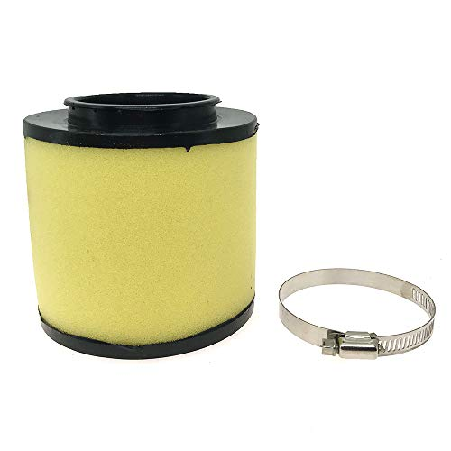17254-HC5-900 Air Filter with Clamp Fits Honda Rancher 350 400 Foreman 400 450 Fourtrax 300 1992-2000 Replace 17254-HC5-900