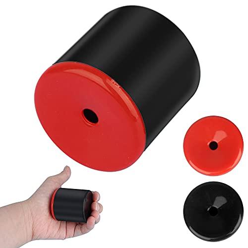 ZoneYan 1 Pieza Articulos de Broma Pedos, Pedos Broma, Máquina de Pedos, Pooter Fart, Sonidos de Pedos, Negro, Negro y Rojo, Colores Aleatorios