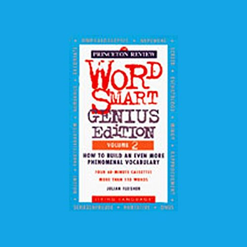 Word Smart, Genius Edition, Volume 2 audiobook cover art