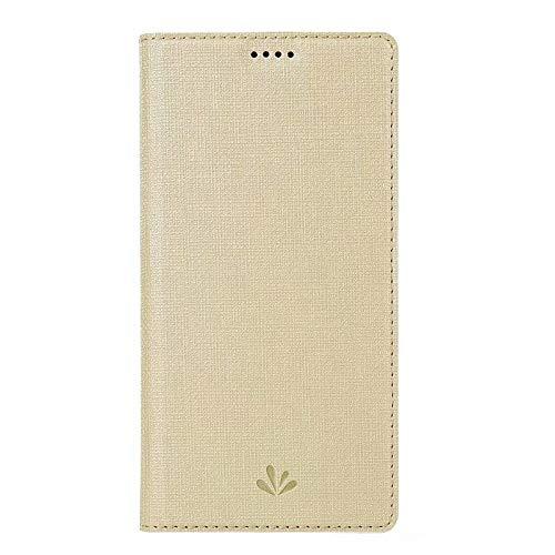 MAXJCN Caso para Samsung Galaxy M20, con Tarjeta de identificación, con el Flip de imán, con función de Soporte, con Costura, Caja de protección a Prueba de Golpes, Cubierta de Billetera